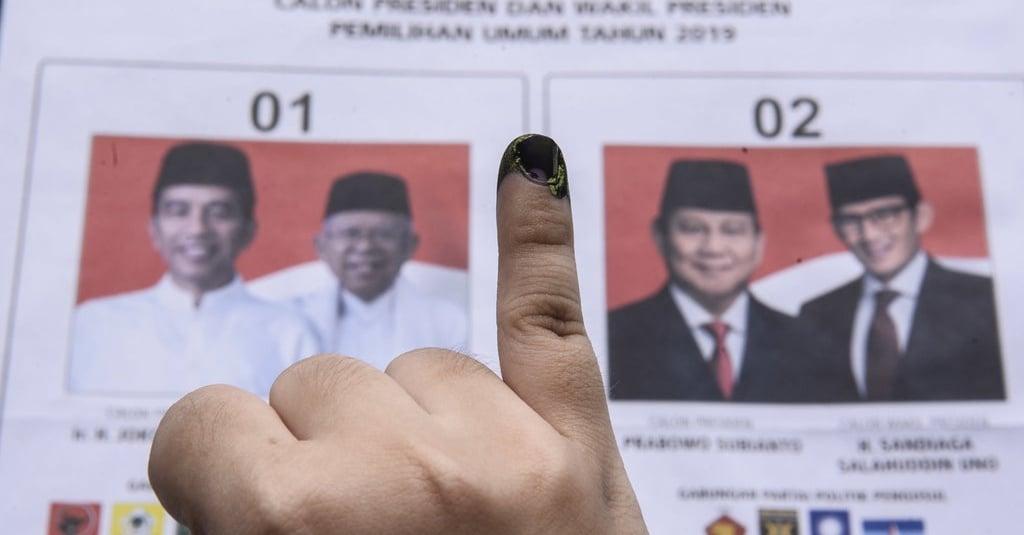 Hasil Situng KPU Per 20 April 09.15 WIB, Jokowi-Ma'ruf