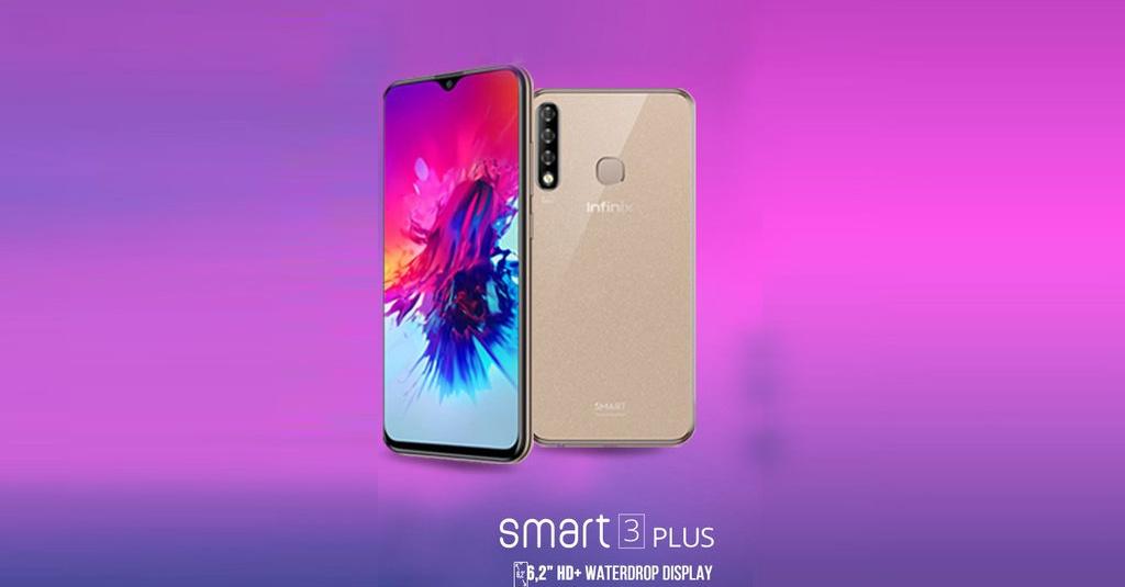 Infinix Smart 3 Plus, Hp Android Murah dengan Tiga Kamera