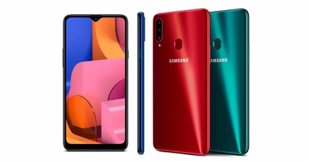 Komparasi Galaxy A20s dengan Samsung A10s, Harga Beda ...