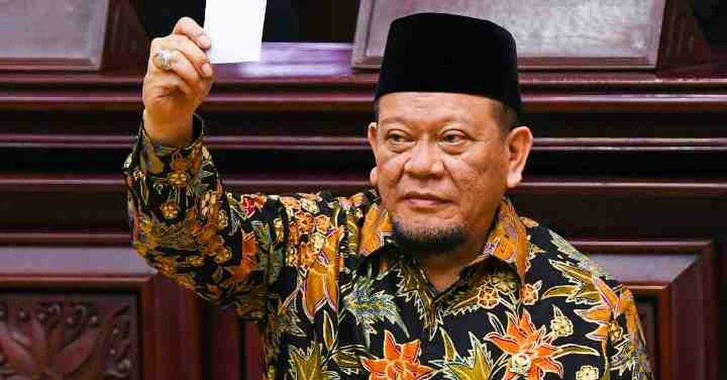 Ketua DPD RI Terpilih La Nyalla Mattalitti Masuk Bursa Ketum PSSI - tirto.id