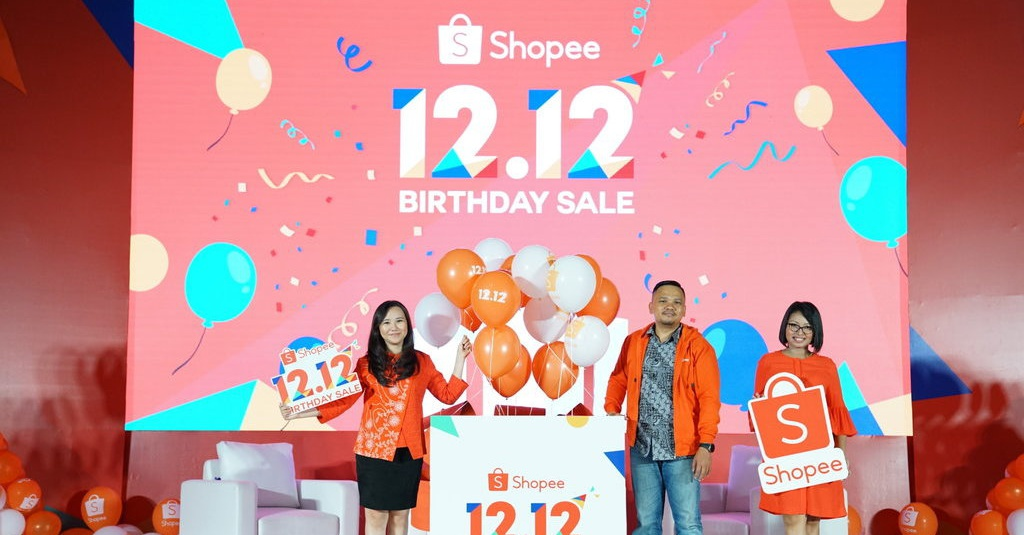 Shopee Rayakan Ulang Tahun Ke 4 Dengan Gelar 12 12 Birthday Sale Tirto Id