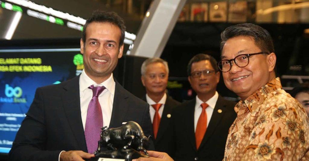 Amar Bank Lepas Saham Rp1,2 M di Bursa Efek Indonesia ...