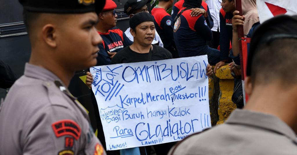 Omnibus Law Itu Apa dan Alasan Demo Buruh di Jakarta Hari Ini
