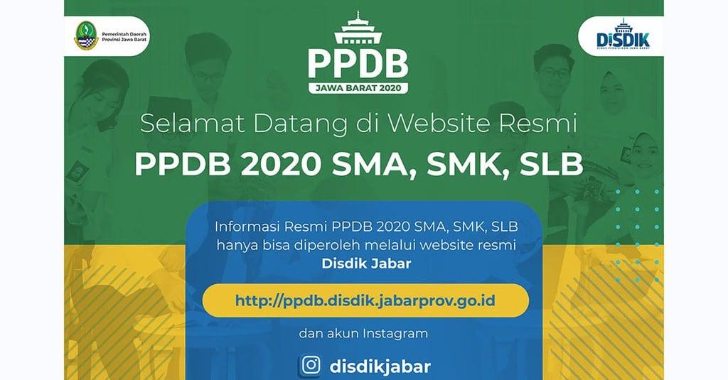 Link Pendaftaran PPDB Jabar Tahap 2: ppdb.disdik.j