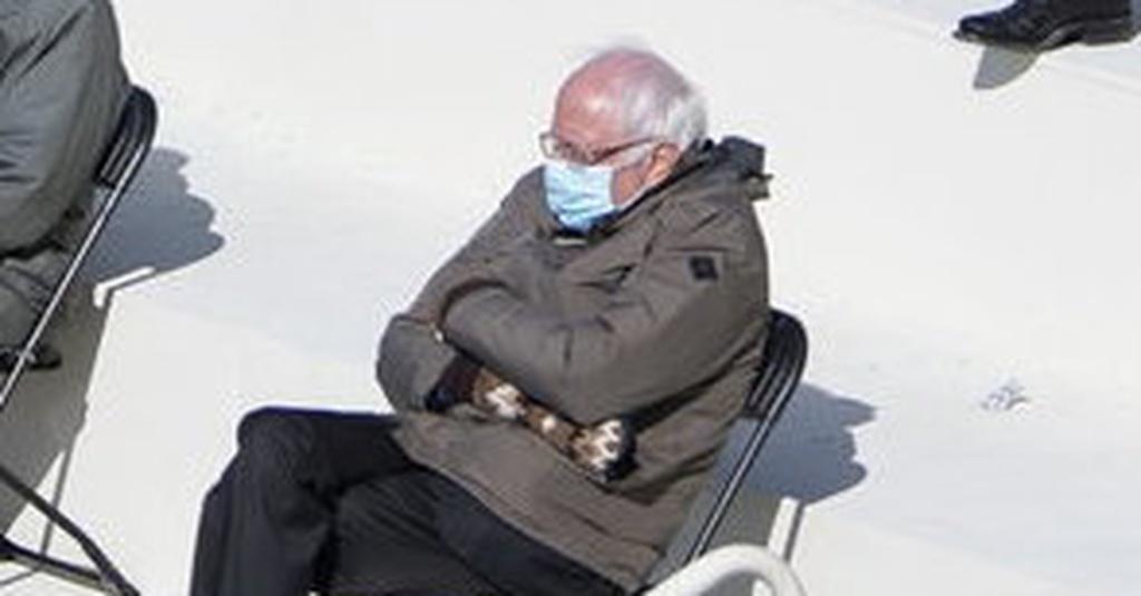 Penyebab Bernie Sanders Viral Jadi Meme Saat Pelantikan Joe Biden Tirto Id