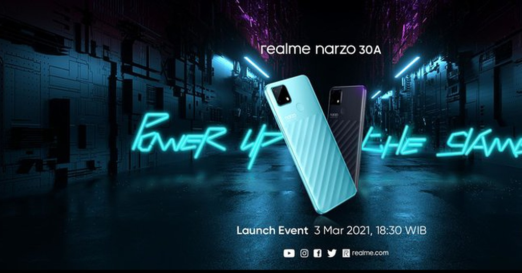Realme Narzo 30A di Indonesia: Spesifikasi, Harga,