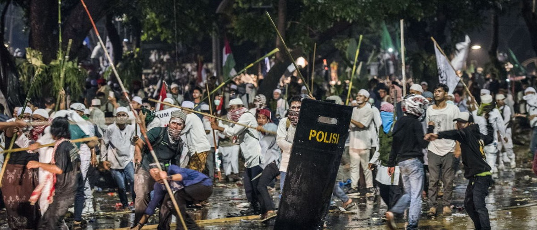 Mencari Pemicu Kerusuhan Demo 4 November