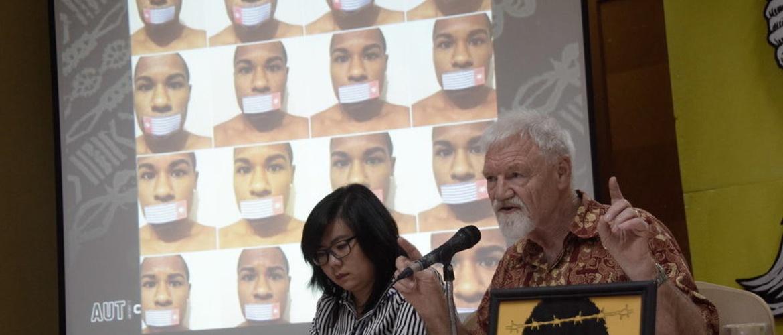 Perayaan Kebebasan Pers di Jakarta, Gelap di Papua