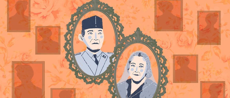 Fatmawati, Cinta Sukarno dari Pengasingan