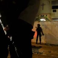 Polisi Bubarkan Demonstrasi Penolak Gereja di Bekasi
