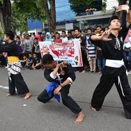Ngamen Pencak SIlat Peduli Aceh