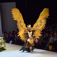 Parade Budaya Indonesia Fashion Week 2017