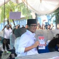 Sandiaga Mengklaim Didukung Sebagian Kader PPP dan Demokrat