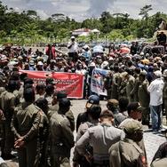 Polisi dari Luar Papua Bantu Amankan Aksi Mogok di Freeport