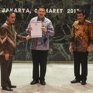Ahok Titipkan Sembilan Program ke Plt Gubernur Sumarsono