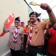 Bupati Azwar Anas Sumringah Usai Bertemu Megawati