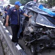 Kecelakaan Maut di Puncak Tewaskan Sejumlah Orang