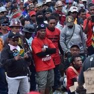 Dipecat Sepihak, Karyawan Freeport Blokade Jalan di Timika