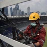 Stadion GBK Bersolek Jelang Asian Games