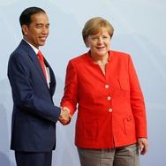 Presiden Jokowi Bertemu PM Belanda di Sela KTT G20