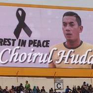 Jersey Timnas Choirul Huda Dilelang di Laga Indonesia vs Guyana