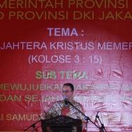 Anies Ucapkan Selamat Natal dan Kunjungi Gereja-Gereja di Jakarta