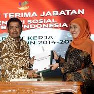 Serah Terima Jabatan Menteri Sosial