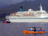 Kapal Pesiar Artania Bawa 1.600 Wisman Singgahi Aceh