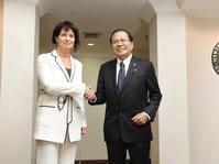Rizal Ramli dan Wapres Swiss Bahas Kerja Sama di Tiga Sektor