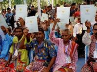 Kurang dari Separuh Bidang Tanah di Indonesia Bersertifikat