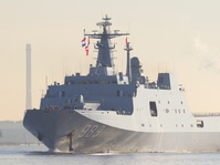 Cina Kerahkan Kapal Perang Menuju Laut Cina Selatan