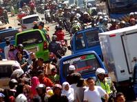 Polisi Berlakukan Jalur Satu Arah di Puncak Bogor