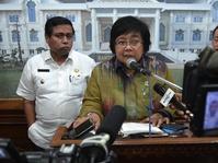 Siti Nurbaya Hadiri Upacara Bendera Suku Tengger
