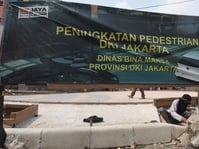 5 Tahun Tugu Tani, KoPK: 90 Persen Trotoar Tak Layak Pakai