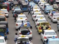 Sopir Kembali Demo Tutup Aplikasi Taksi Online
