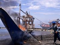 Delapan Kapal Nelayan Vietnam Tertangkap Patroli