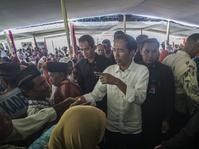 Pedagang Kaki Lima Harap Kedatangan Jokowi Membawa Berkah