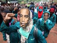 BEM Seluruh Indonesia Menuntut Realisasi Program Jokowi