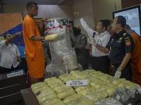 BNN Ungkap Penyelundupan 69,2 Kg Sabu