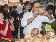 Kampanye Perdana, Anis Baswedan Blusukan ke Pasar Tebet