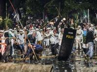 Polisi Buru Dalang Kerusuhan Demo 4 November