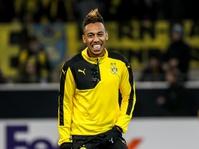 Arsenal Resmi Tawar Aubameyang, Dortmund Bungkam