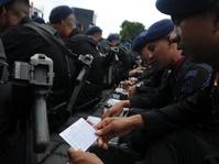 400 Brimob Kelapa Dua Dikirim ke Kalbar Amankan Aksi 20 Mei