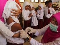 Keengganan Vaksinasi Membuat Difteri Merebak di Jawa Timur