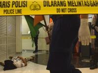 Simulasi Penangan Kriminalitas di Mal