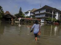 Banjir Akibat Luapan Bengawan Solo