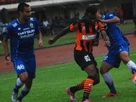 Hasil Persib vs Perseru Skor Akhir 0-2