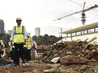 Jokowi Pastikan Proyek GBK Rampung November 2017