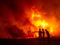 Kebakaran Pabrik Mebel