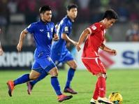 Thailand vs Myanmar Piala AFF 2016, Skor Sementara 2-0